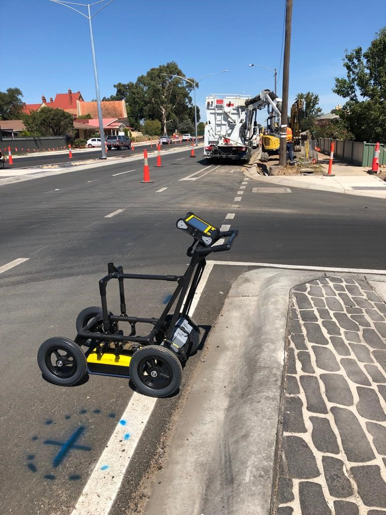 GPR Field Methods for Minimizing Site Impact