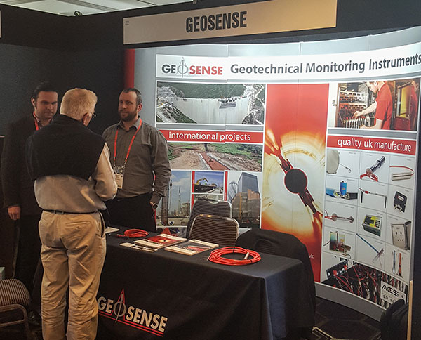 Clear image of Geosense's booth