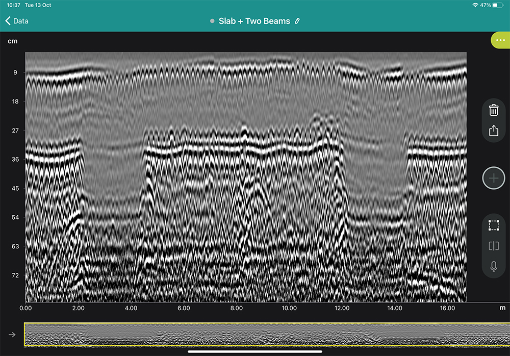 Line Scan Data - Raw