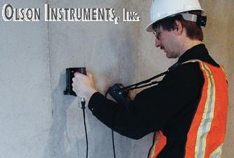 NDE 360, Impact Echo, IE, Concrete Thickness Measurement