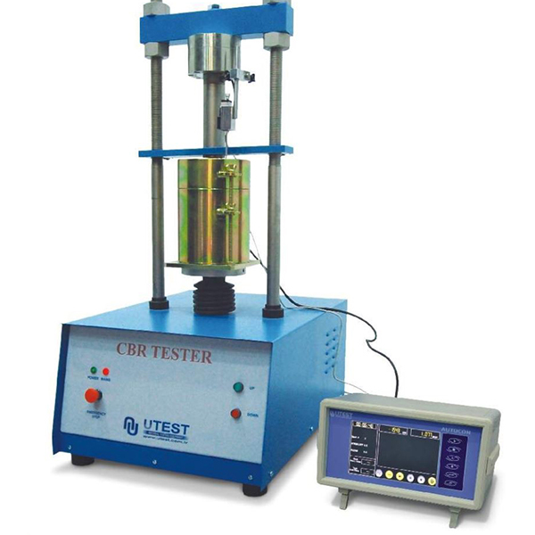 CBR Test Machine with Load Ring – UTS-0852