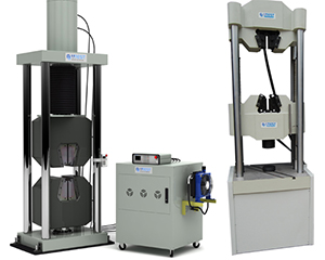 Servo Hydraulic universal machines, single and double test space