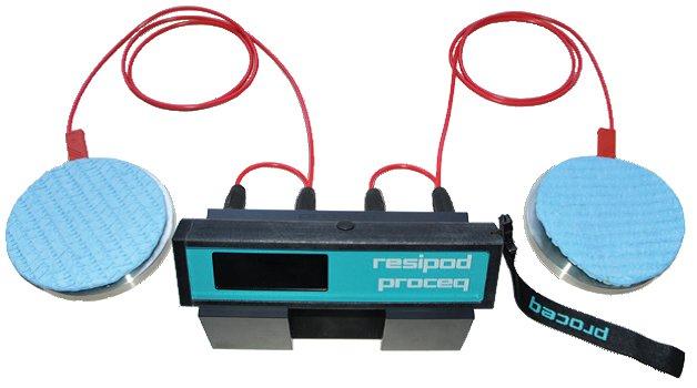 Resistivity Measurement, Resistivity Meter, Concrete Resistivity, resipod, concrete resistivity test